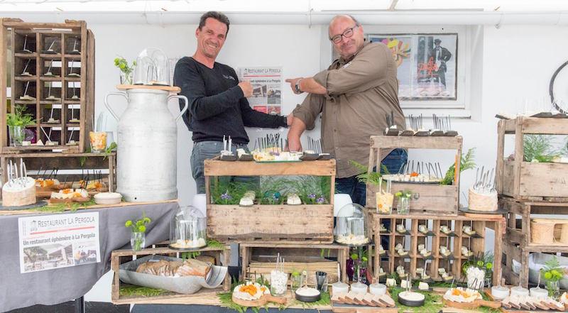 L'été de l'épicurium : Buffet Inauguration la Pergola – ile de Ré
