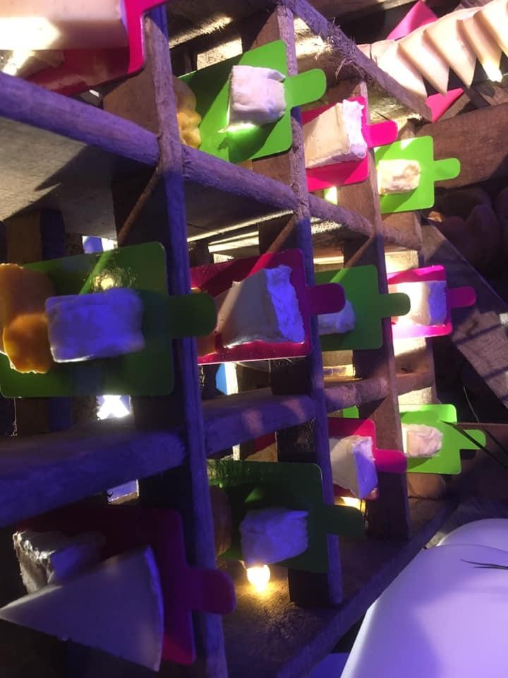 BUFFET FROMAGES ELEC EXPO LA ROCHELLE