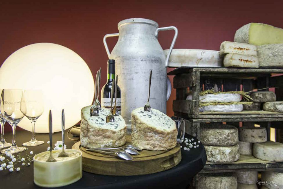Buffet fromages fromagerie l'épicurium La Rochelle (28)
