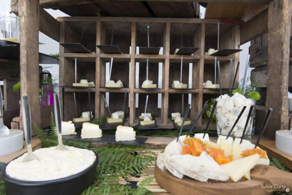 Buffet fromages fromagerie l'épicurium La Rochelle (51)