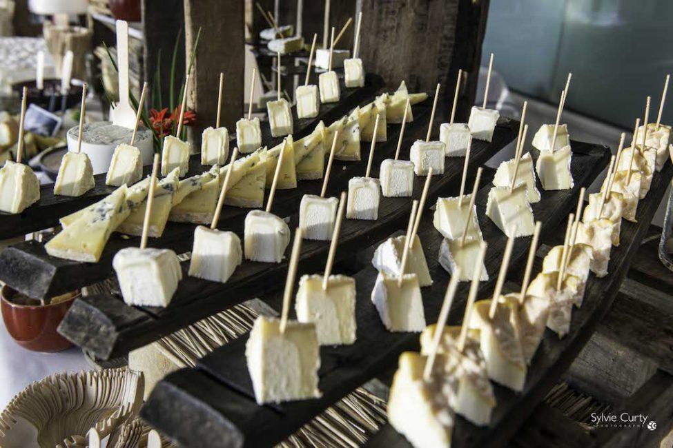 Buffet fromages fromagerie l'épicurium La Rochelle (68)