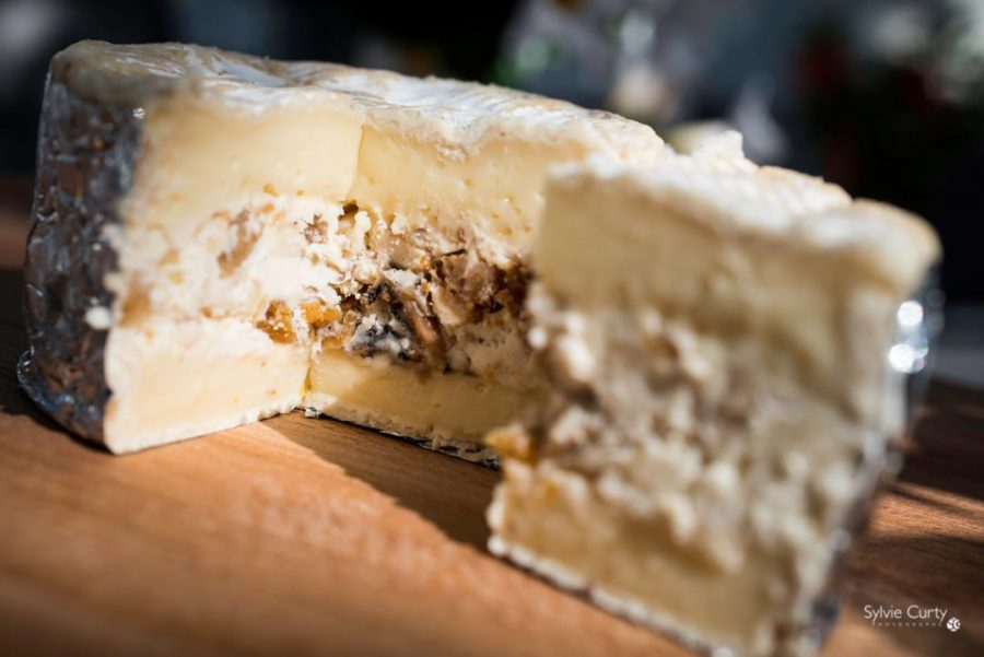 Camembert Figues Noisettes Amandes